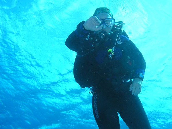 Diving in Cozumel, Mexico 05'